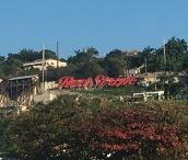Red Stripe sign Montego Bay
