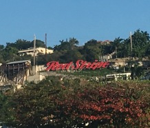 Red Stripe sign Montego Bay