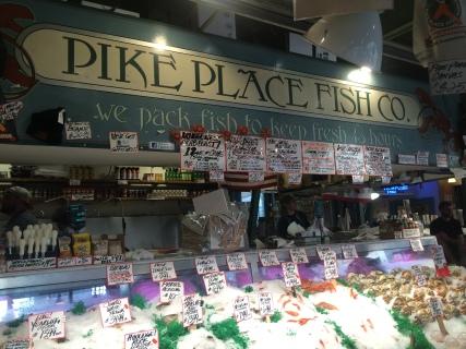 Pike Place Fish Co, Seattle, WA