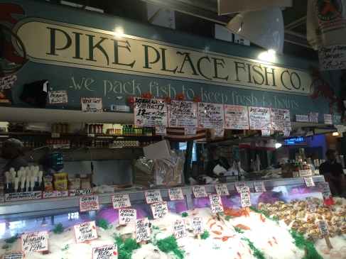 Pike Place Fish Co, Seattle, WA