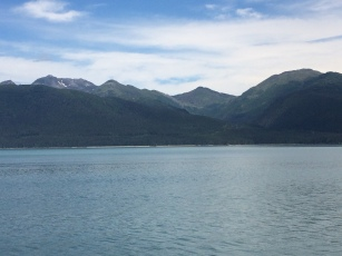 View of mountains Juneau