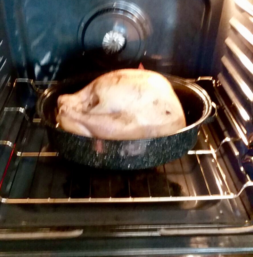 Our 2017 turkey roasting