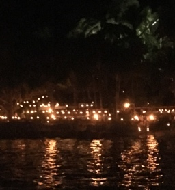 Las Caleta by candlelight